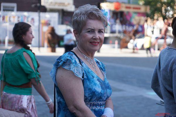 Флешмоб женственности состоялся в Перми в субботу, 1 августа.