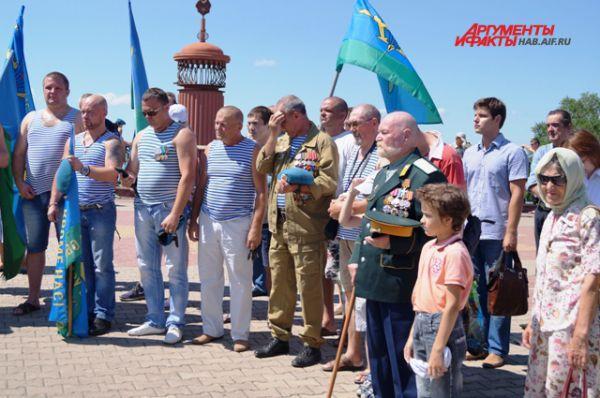 Хабаровские дисантники чтят память своих товарищей