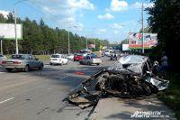 В аварии два человека получили незначительные повреждения.