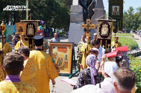 В этом году икона Ильи Пророка - покравителя войнов - десантников была настоящей