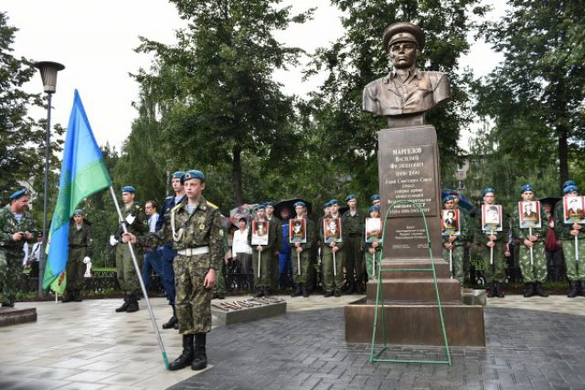 Памятник маргелову в ярославле фото изготовление памятников и оградок цена