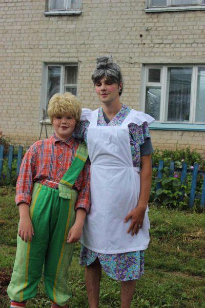 Шведский Карлсон прилетел... из карсунского села Вальдиватское