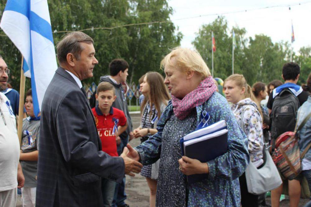 Владимир Чубаров и Марина Ганичева