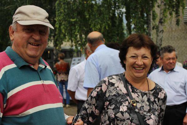 Галина Белова с супругом приехали на праздник аж из самой Германии!