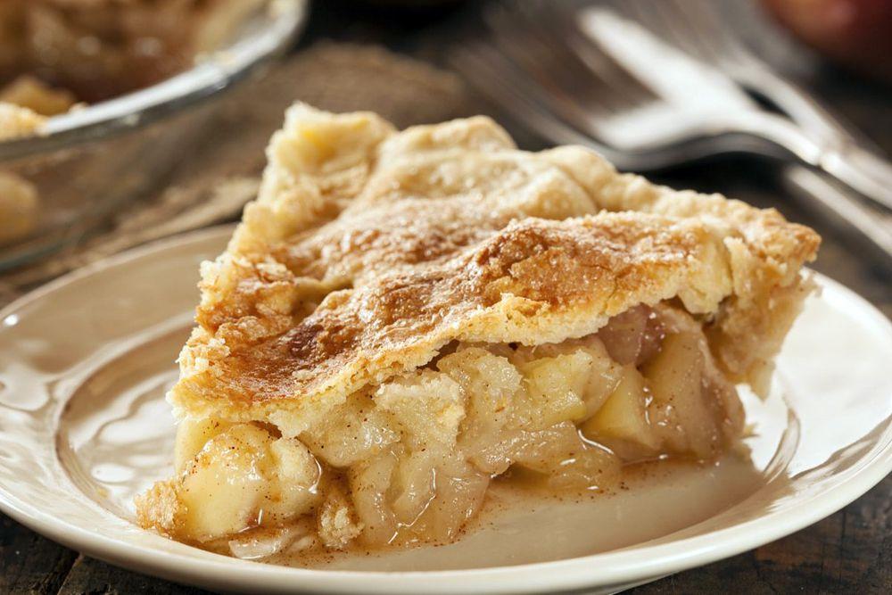 А вот в США больше всего любят яблочный пирог.