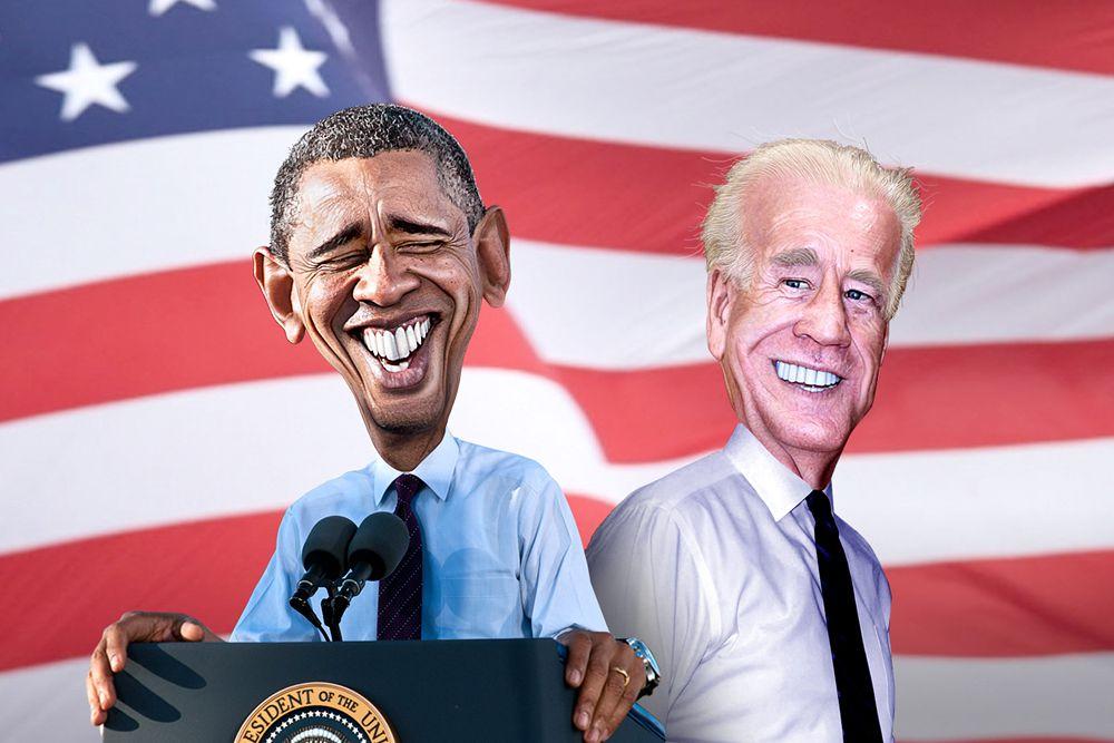 Барак Обама и Джозеф Байден.