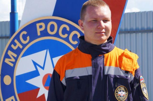 Спасатель Дмитрий Клепцов героем себя не считает