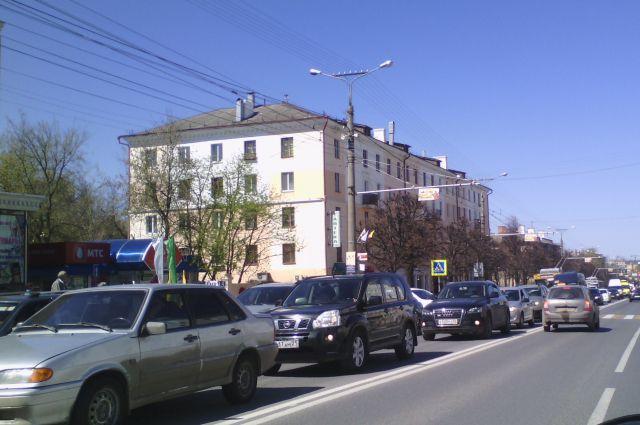 В Новосибирске уменьшились пробки