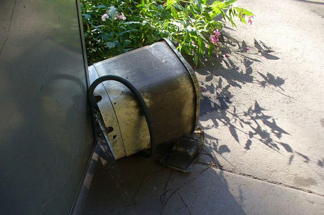 Стиральная машинка могла стать причиной возгорания.