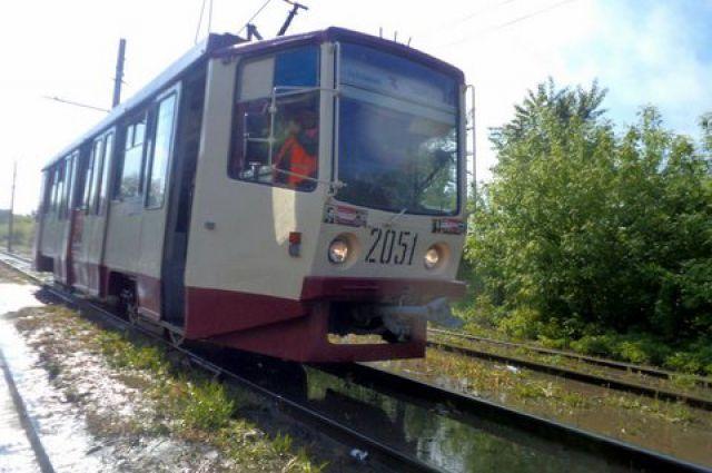 Движение трамваев в Металлургический район приостановят до середины августа