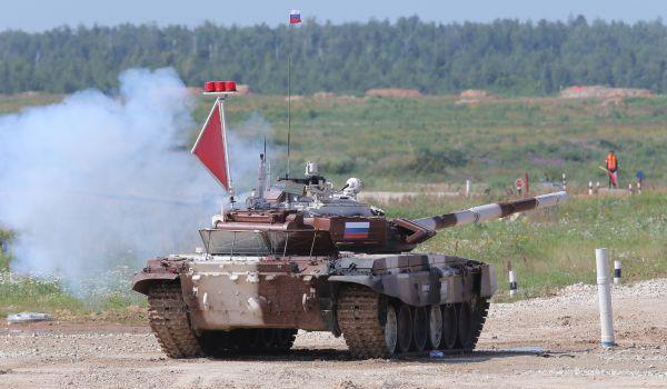 Команда министерства обороны России.
