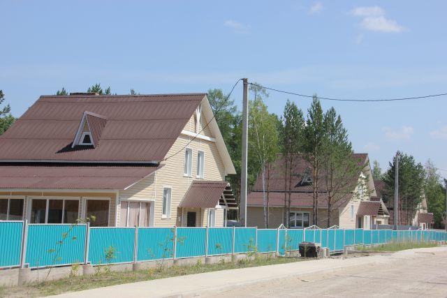 Новый микрорайон один из самых красивых в Саянске.