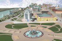 Один из проектов реконструкции Набережной.