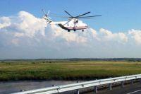 Вертолёты доставляют раненых в Хабаровск