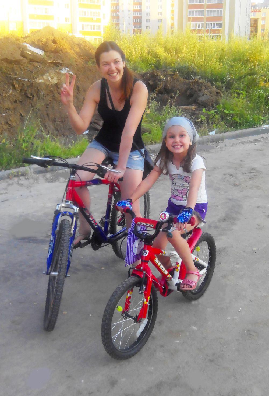 Анна Кондрашова и ее дочь Мария: