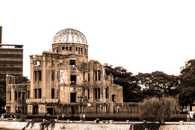 Купол Гэмбаку в Хиросиме.
