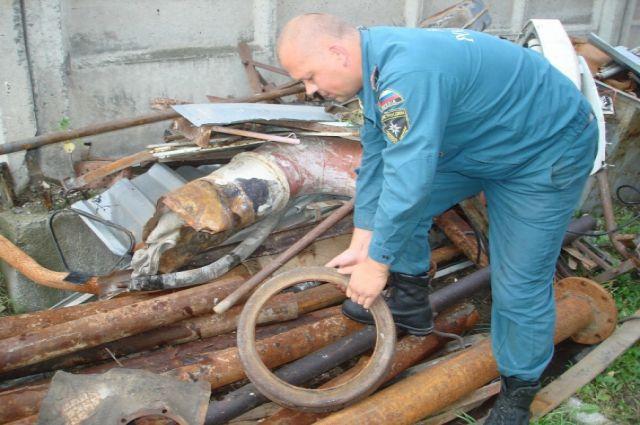 Новосибирские спасатели очистят город от металлолома
