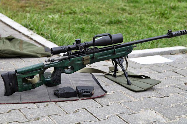 Снайперская винтовка СВ-98.