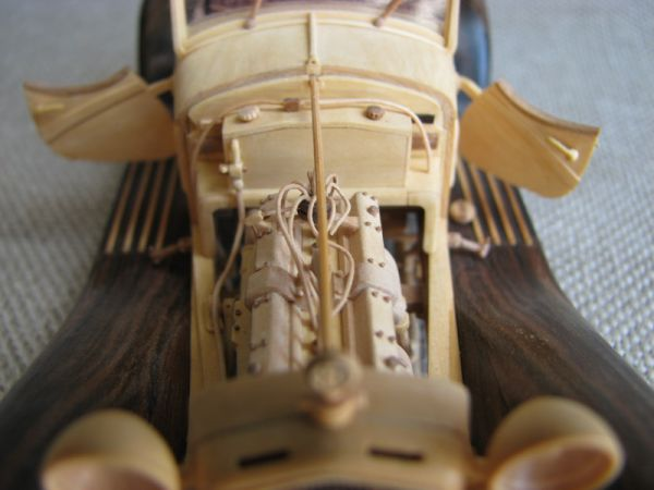 Двигатель сделан в точности по чертежам.