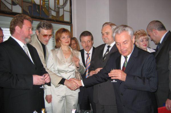 Среди гостей на банкете по случаю присяги Михаила Евдокимова был Александр Михайлов.