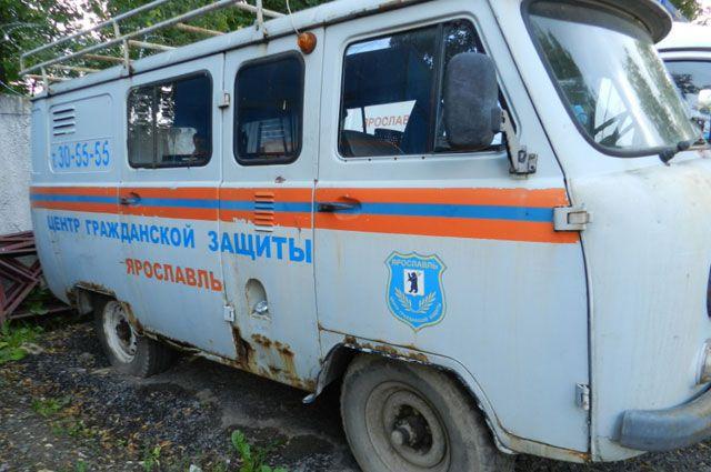 Спасатели жалуются на устаревшие технику и автопарк.