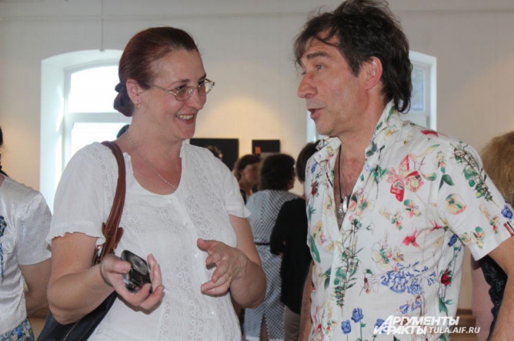 Блогер Ольга Вострикова и Александр Карташов.