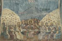 Никейский собор (румынская фреска, XVIII век).