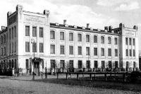 Бесплатный родильный приют и гинекологическая лечебница с постоянными кроватями Агриппины Александровны Абрикосовой в Москве.