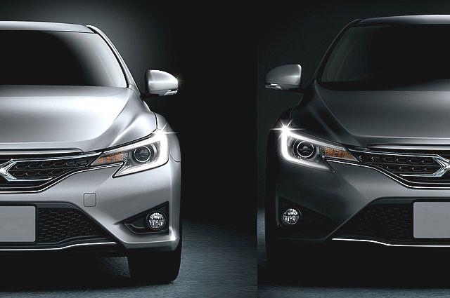 Автомобили-«близнецы».