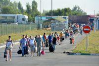 Сегодня через КПП «Донецк» РФ на Украину возвращается ежедневно около 100 человек.