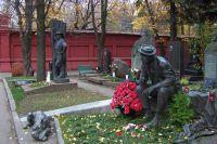 Новодевичье кладбище.