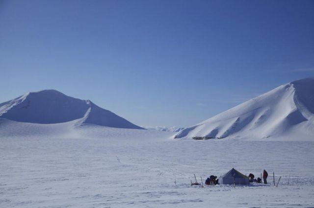 Фото из одной из экспедиций знаменитого путешественника Михаила Малахова.