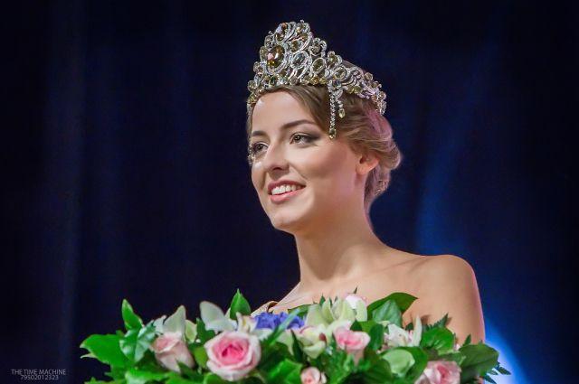 Победу в конкурсе «Мисс Екатеринбург 2015» одержала Владислава Тарасова