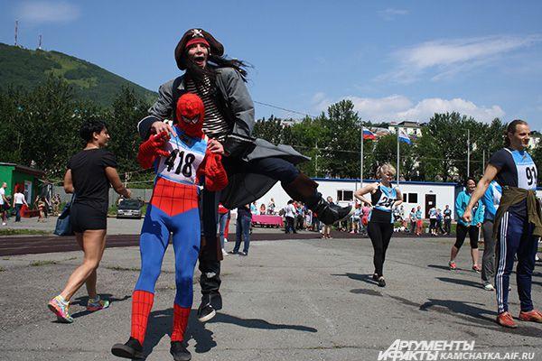 Приглашенный гость - человек-паук.