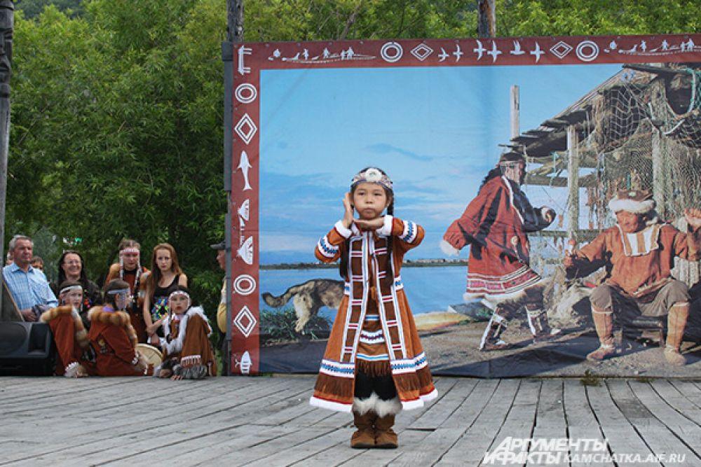 Участница детского конкурса «Традиции в нашей семье».