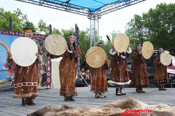 Международный день коренных народов мира. Праздник состоялся на этнографической площадке «В гостях у Кутха».