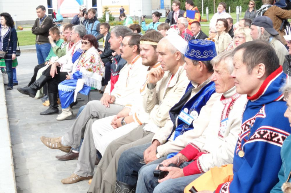 Участники конкурса перед церемонией награждения.