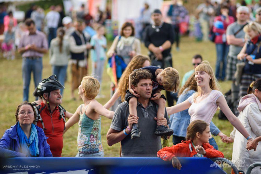 В этом году фестиваль собрал большое количество зрителей.