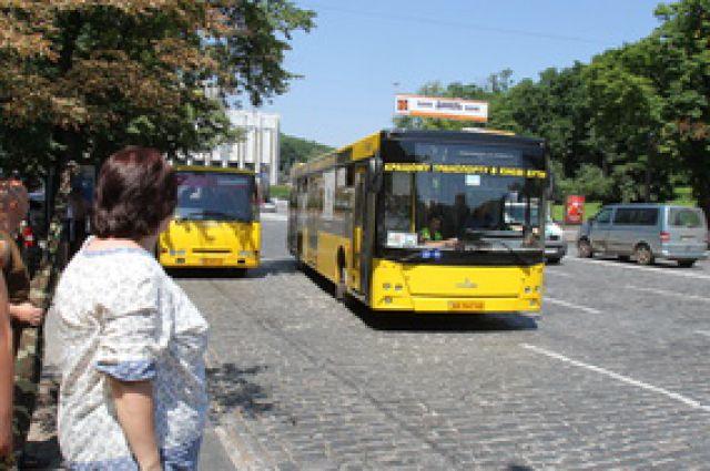 Из-за ремонта дороги на Подоле