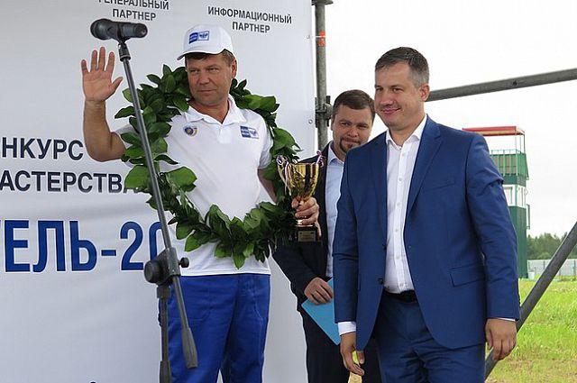 Омский водитель занял почётное третье место.