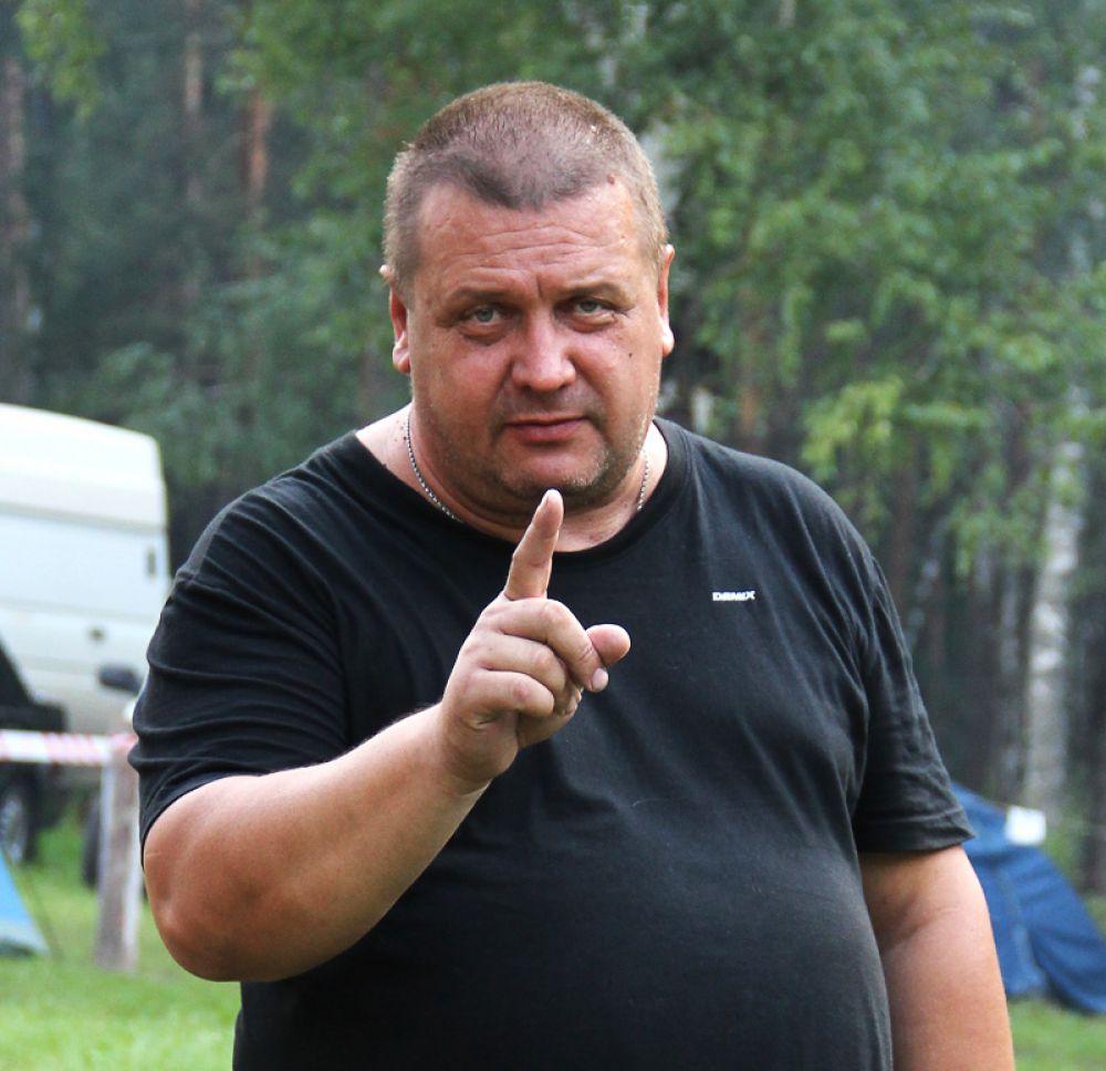 Бессменный комендант фестиваля Олег Дмитриев