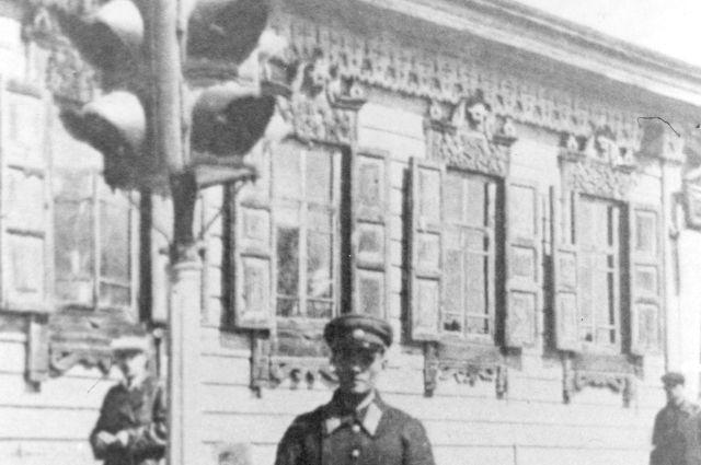 Первый красноярский светофор.