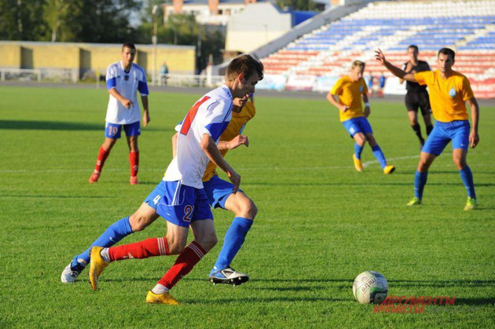 «Иртыш» против барнаульского «Динамо» - 1:1.