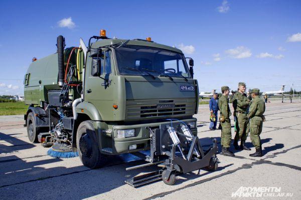 Военный автомобиль на а/м КАМАЗ.