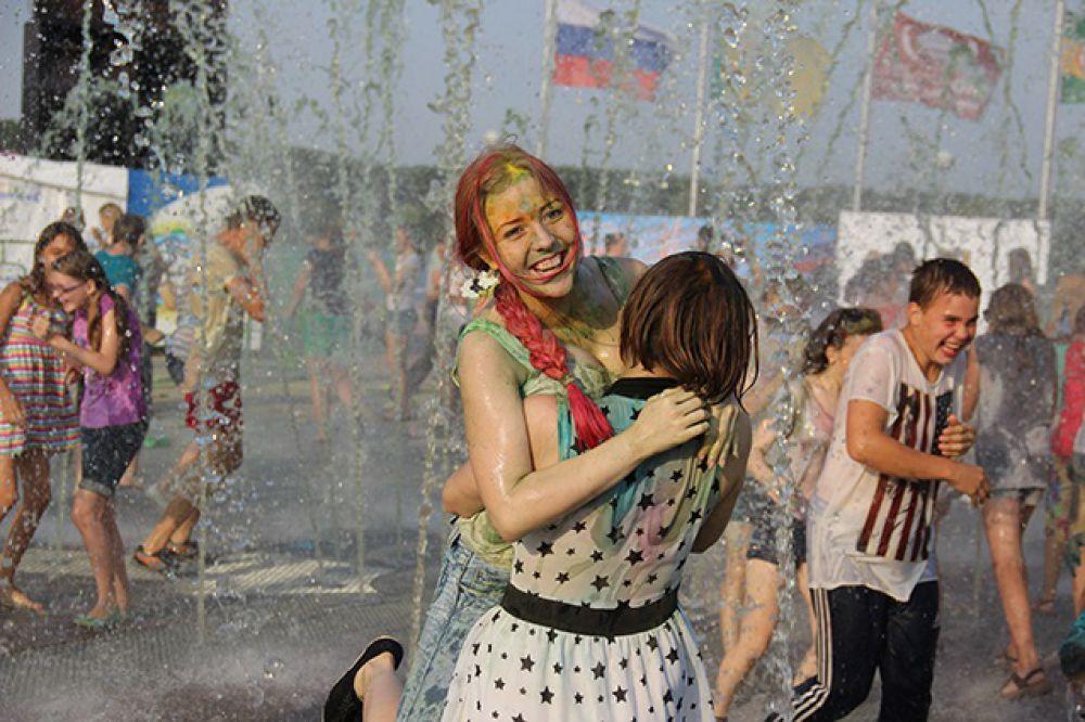 Следующий праздник красок пензенцам обещают в сентябре.