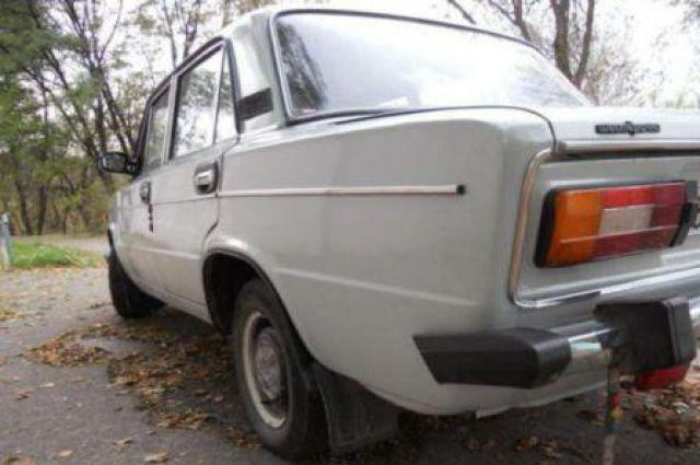Машина найдена в посёлке Лузино.