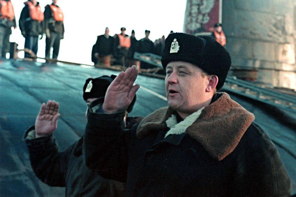 Капитан 1 ранга Лячин Геннадий Петрович.