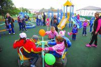 О такой площадке мечтали дети и родители из Красноярки.