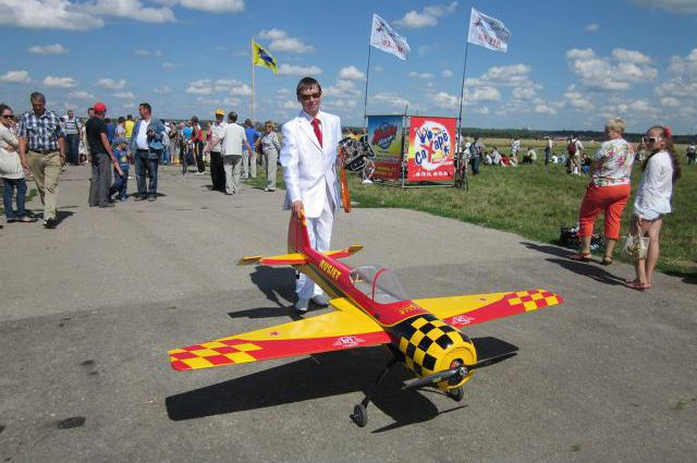Маэстро пилотажа - Павел Белов.