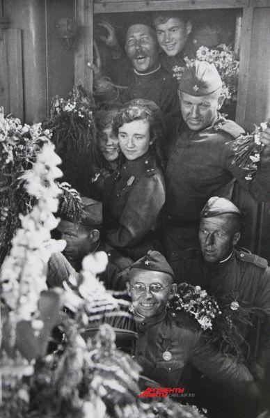 Встреча на Белорусском вокзале
